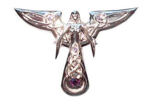 SN10-Leora Celeste Light Angel by Anne Stokes for Protection and Serenity (Supernaturelles) at Enchanted Jewelry & Gifts