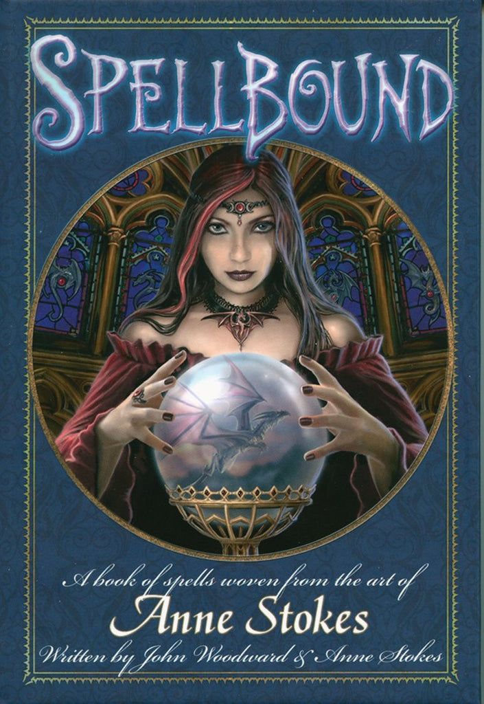 (Product Code: SPELL) Spellbound Book from Anne Stokes and John Woodward, Anne Stokes - EnchantedJewelry - 1