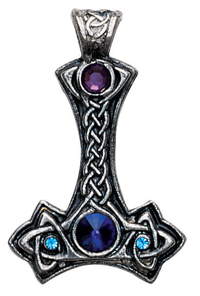 NLTH03-Thor's Hammer Pendant for Personal and Psychic Protection-Nordic Lights-Enchanted Jewelry & Gifts