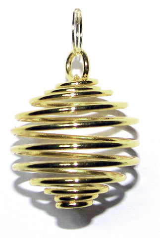 TSGRr-Gold Round Treasure Spiral (Treasure Spirals) at Enchanted Jewelry & Gifts