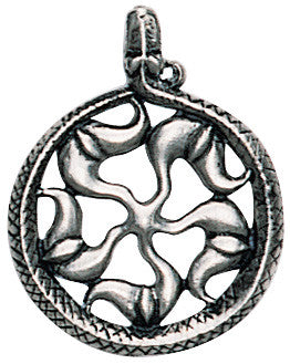 (Product Code: TVP12) Sunwheel for Wealth and Abundance, Trove of Valhalla - EnchantedJewelry