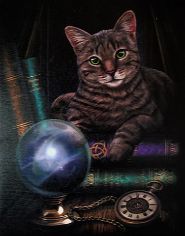 WP222LP - Fortune Teller Canvas Art Print by Lisa Parker (Canvas Art Prints) at Enchanted Jewelry & Gifts