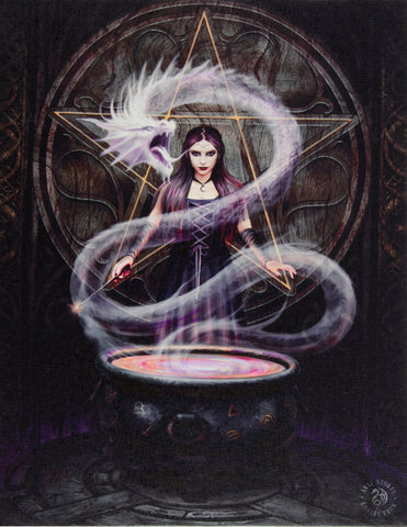 The Summoning Canvas Print by Anne Stokes