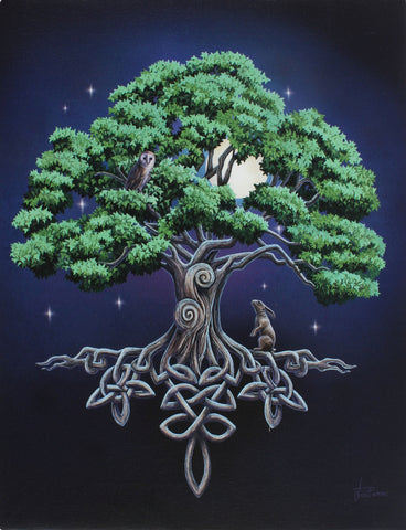 WP340LP-Tree of Life Canvas Print by Lisa Parker Canvas Art Prints at Enchanted Jewelry & Gifts