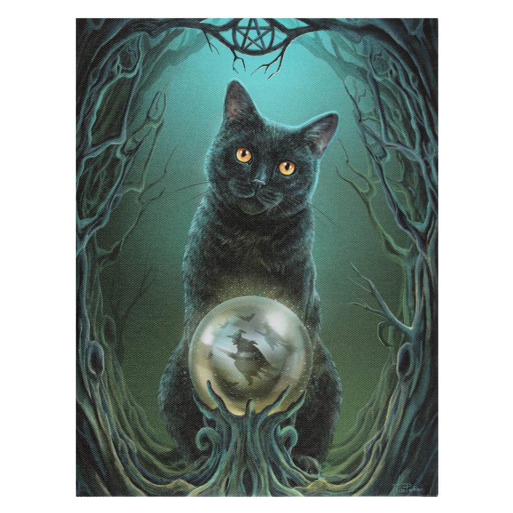 WP342LP-Rise of the Witches Canvas Art Print by Lisa Parker Canvas Art Prints at Enchanted Jewelry & Gifts