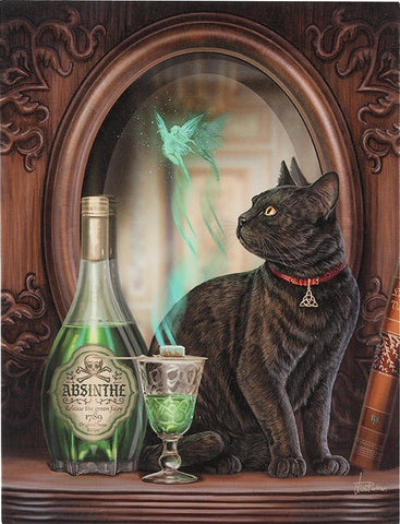 Absinthe Canvas Art Print by Lisa Parker
