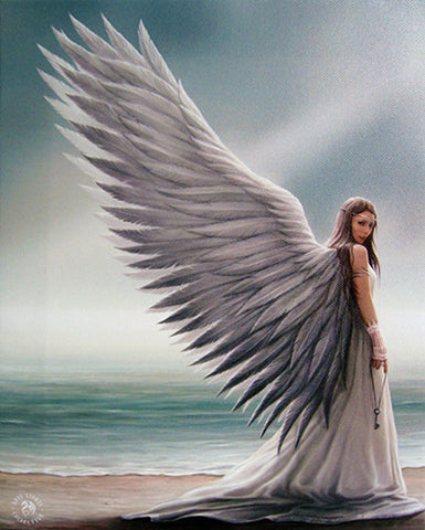 WP755AS-Spirit Guide Canvas Art Print by Anne Stokes Canvas Art Prints at Enchanted Jewelry & Gifts