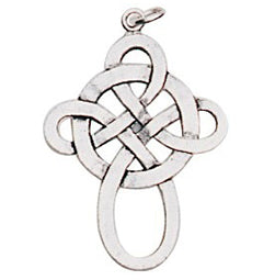 ESPB2 - Celtic Knot Pendant for Happy Love & Friendship (EarthSea Charms) at Enchanted Jewelry & Gifts