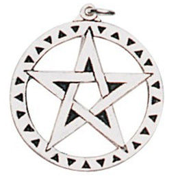 ESPB4 - Pentagram Pendant for Achievement of Desires (EarthSea Charms) at Enchanted Jewelry & Gifts