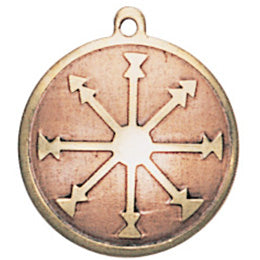 MA10-Charm Against Frailty of Spirit & Self Doubt (Mediaeval Fortune Charms) at Enchanted Jewelry & Gifts