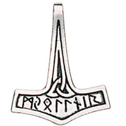 TVP06 - Thor's Hammer for Inner Strength (Viking Trove of Valhalla) at Enchanted Jewelry & Gifts