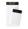 Big & Little List Pads - The Pink Orange