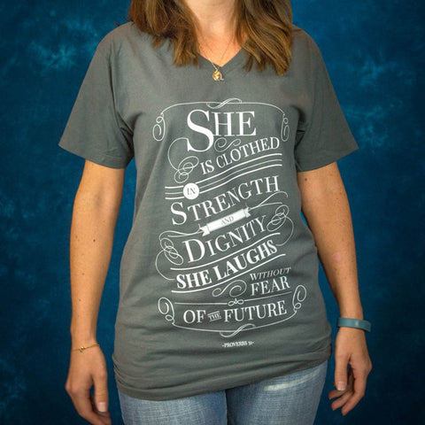 Proverbs 31 V-Neck
