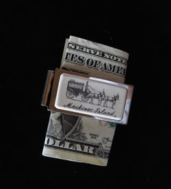 Mackinac Island Carriage Money Clip