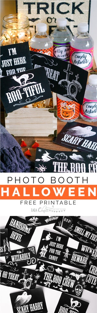 Halloween Party Photobooth Printable