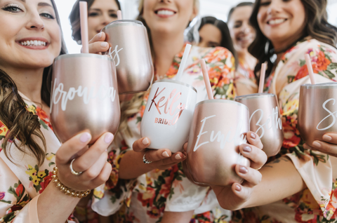 Bridesmaid Cups for Bridal Party Gifts