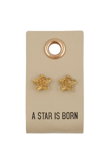 A Star Is Born Star Stud Earrings