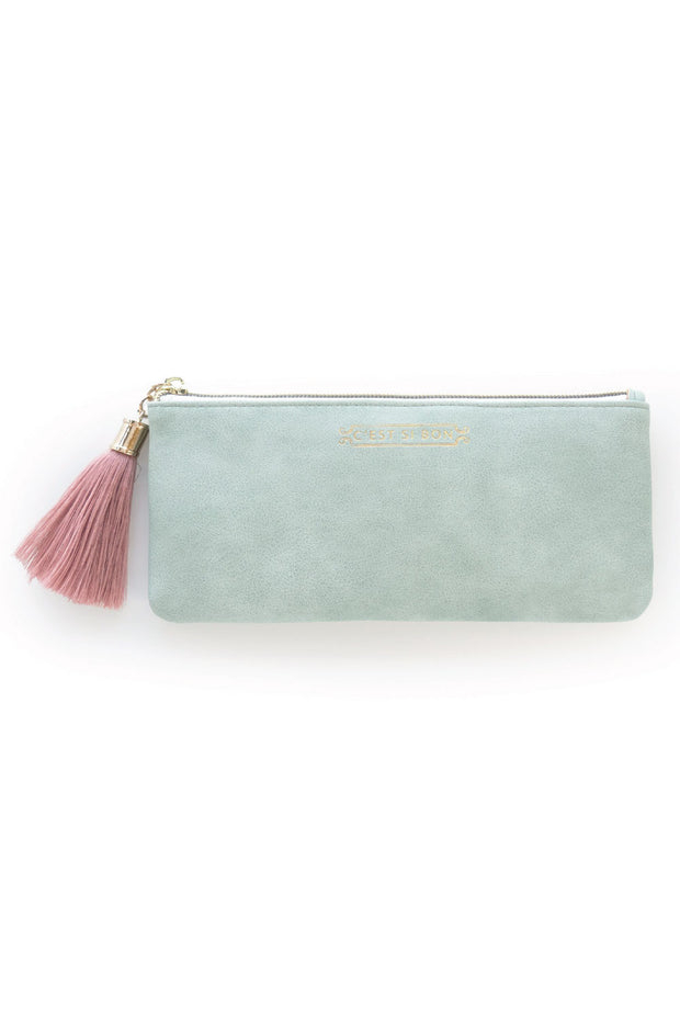 C'est Si Bon Leather Pouch
