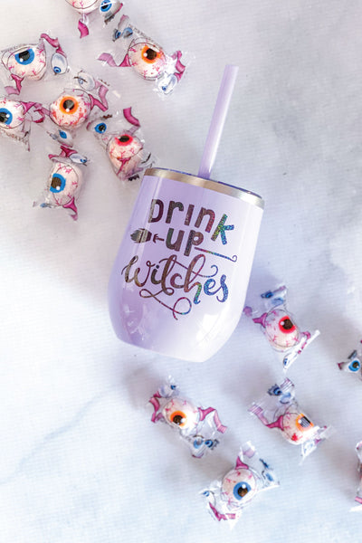 Drink Up Witches Halloween Tumbler