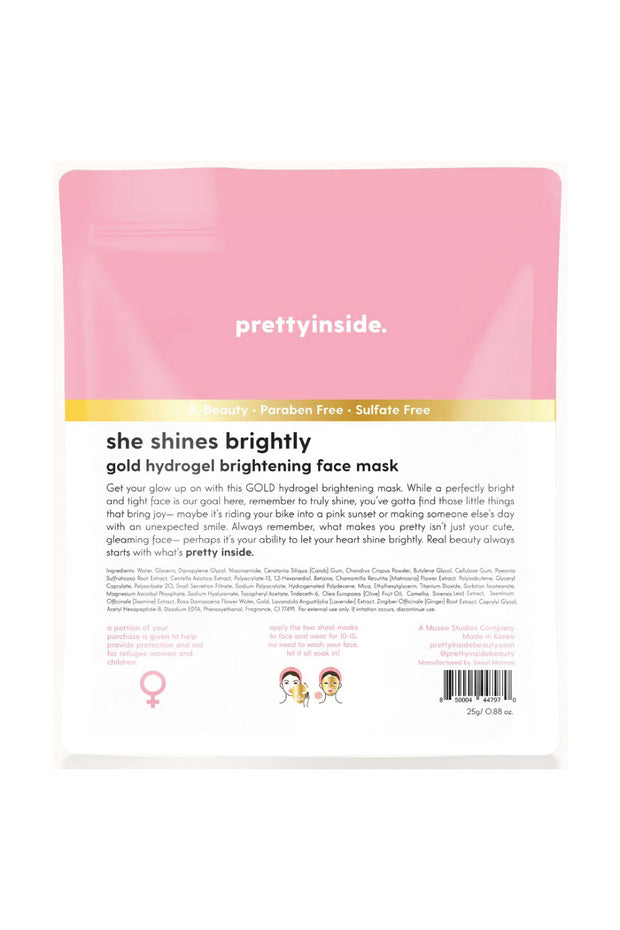 Facial Mask - She Shines Brightly