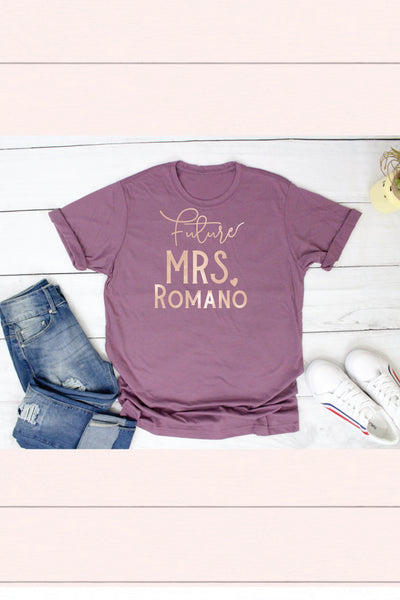 Future Mrs Shirt for Engagement Gift