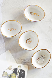 Just Married Ring Dish