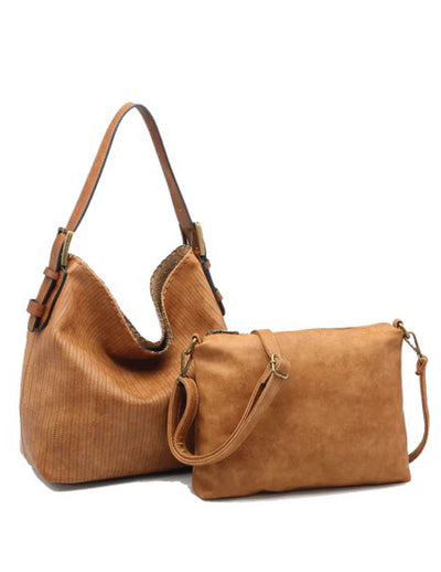 Kinsey Hobo Bag - Camel