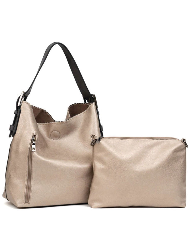 Layla Hobo Bag Conceal and Carry - Copper