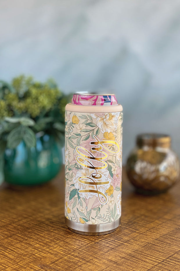 Personalized Skinny Can Cooler