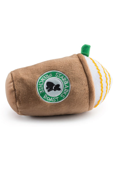 Starbucks Frenchie Roast Plush Dog Toy
