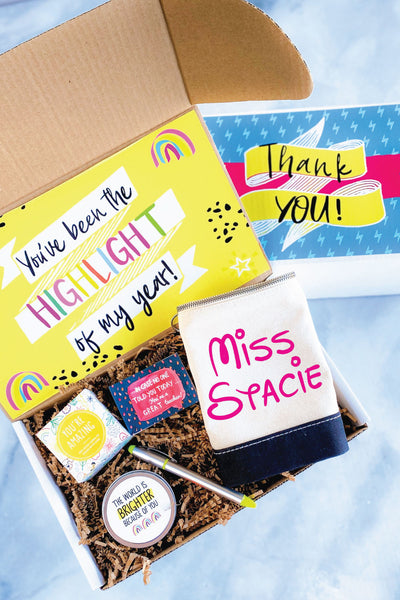 Teacher Gift Box - Highlight of my year