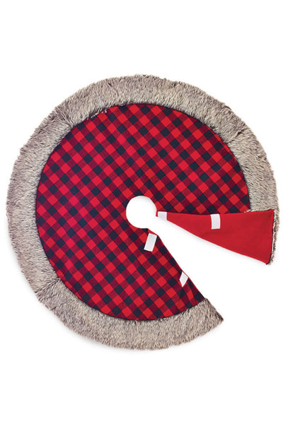 Vail Buffalo Check Tree Skirt
