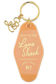 Vintage Dreams Motel Tag Key Chain | Keys to the Love Shack
