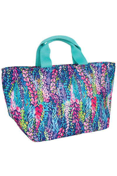 Wisteria Waves Insulated Cooler Lunch Bag