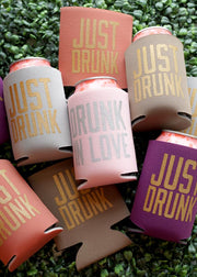 #bachelorette Drunk In Love / Just Drunk can coolies make a great party favor. #gameday