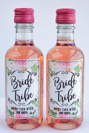 Bride Tribe Wine Labels
