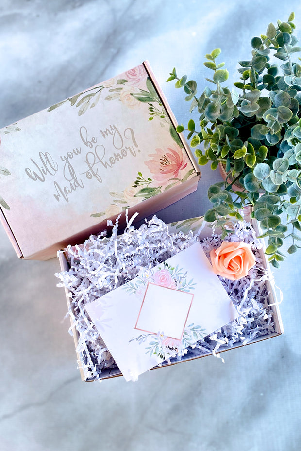 Bridesmaid Proposal Box - Fill Your Own