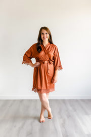 Bridesmaid Robes - Copper