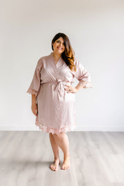 Bridesmaid Robes - Nude Pink