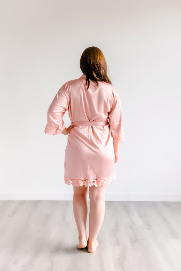 Bridesmaid Robes - Rose
