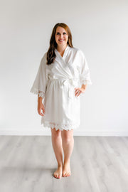 Bridesmaid Robes - White