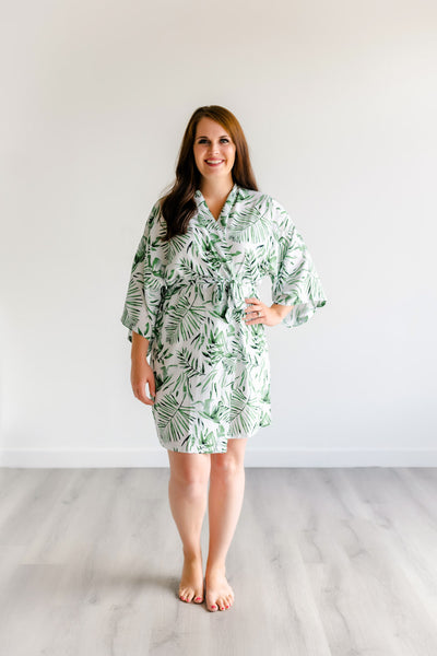 Tropical Bridesmaid Robes