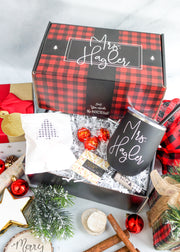 Holiday Gift Box with Stemless Wine Tumbler