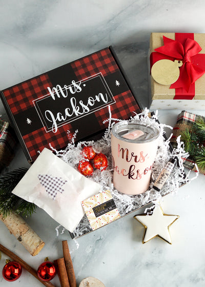 Coffee Tumbler Holiday Gift Box