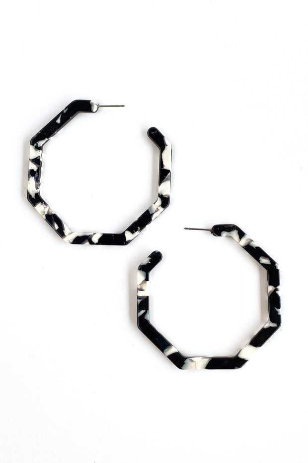 Hexy Hoops Earrings