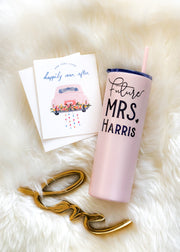 Future Mrs Tumbler for Engagement Gift