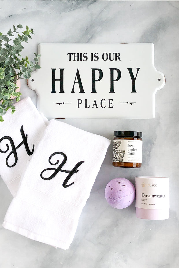 Our Happy Place Lux Gift Set - White