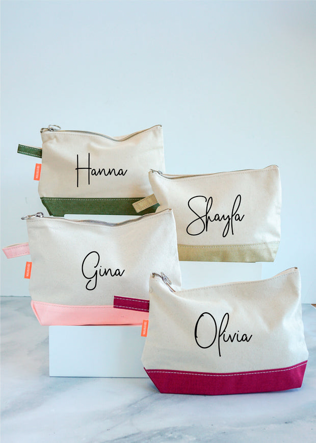 Personalized Make Up Bags