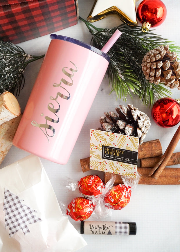 Holiday Gift Box with Mini Skinny Tumbler