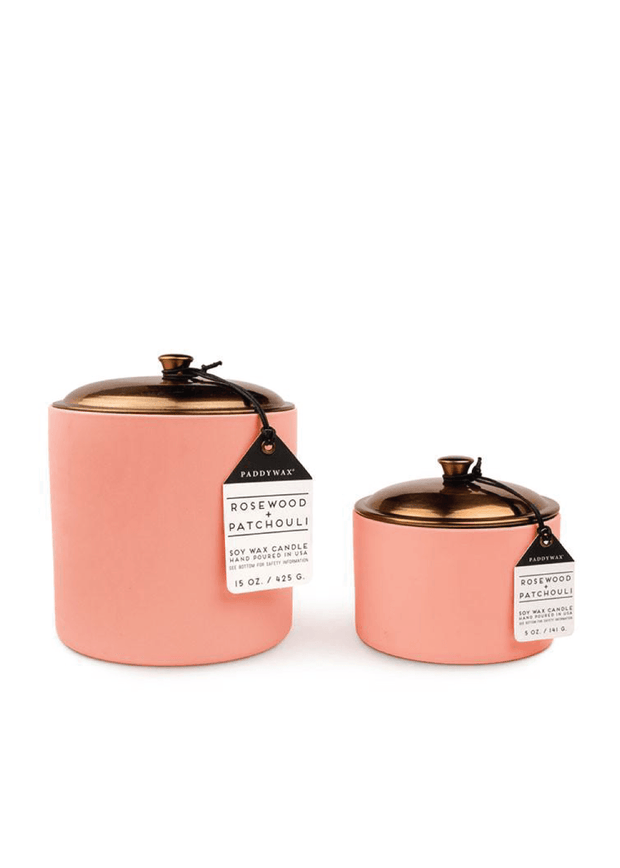 Rosewood + Patchouli Candle